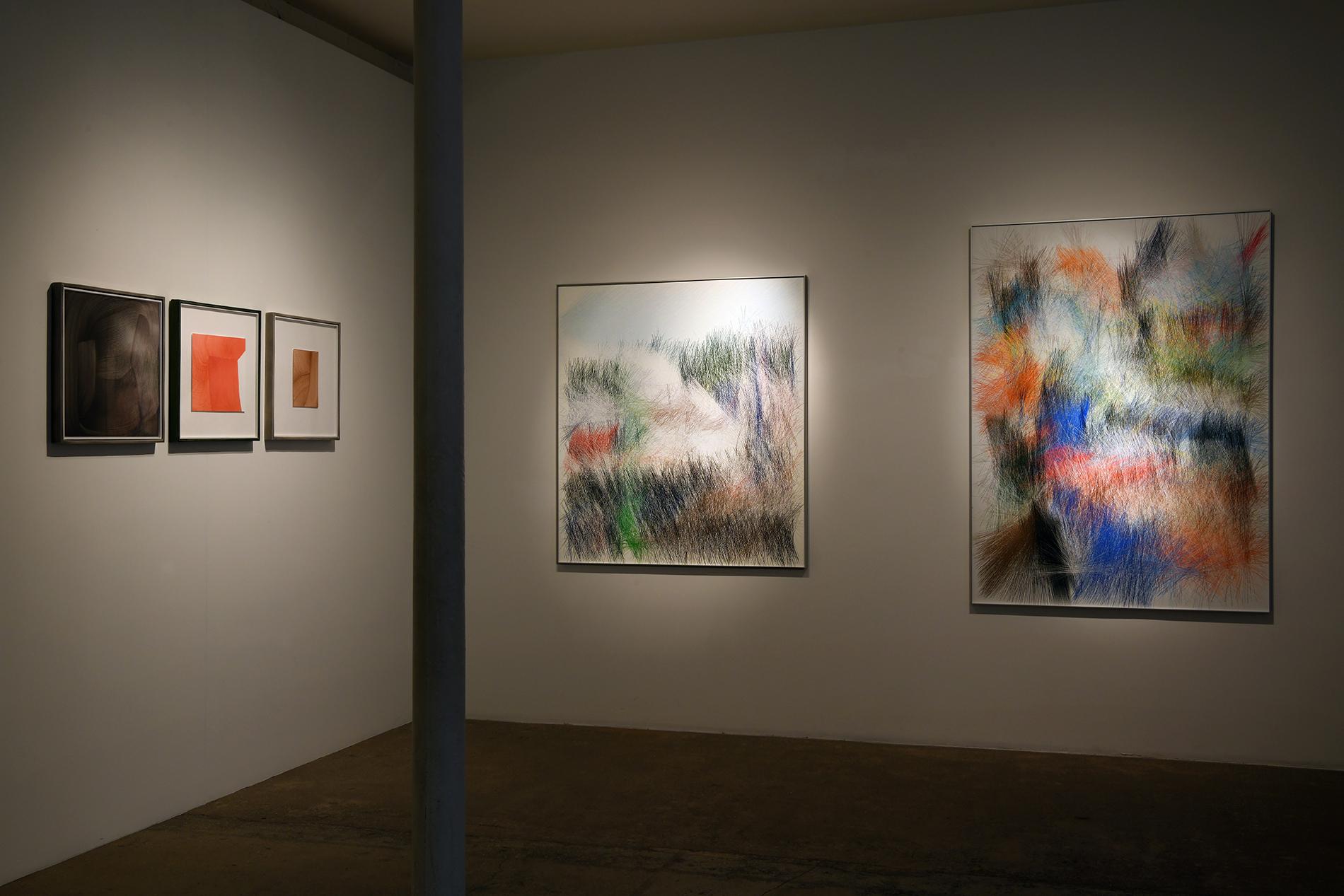 Galerie Kreo, exposition de dessins - Morgane Le Gall